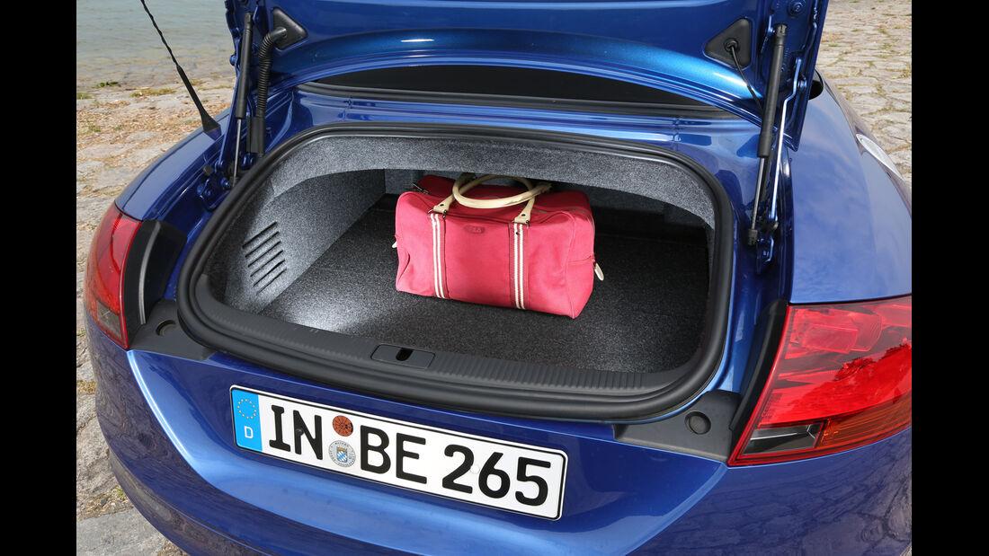 Audi TT RS, Kofferraum
