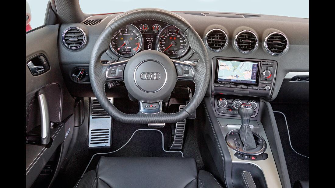Audi TT RS Plus Coupé S-Tronic, Cockpit, Lenkrad