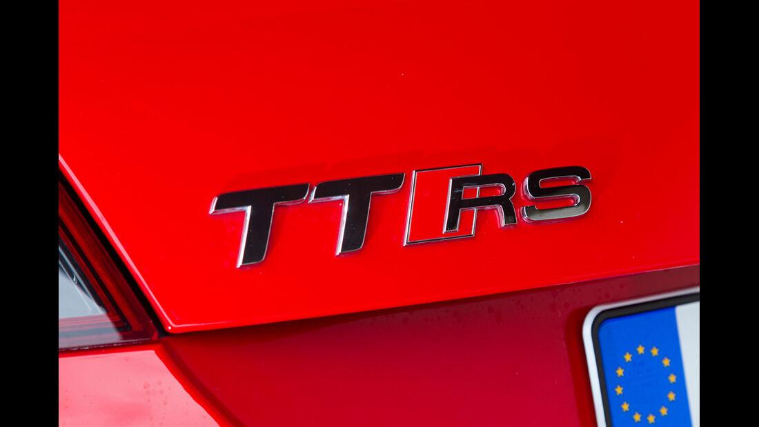 Audi TT RS Plus Coupé S-Tronic, Typenbezeichnung, Schriftzug