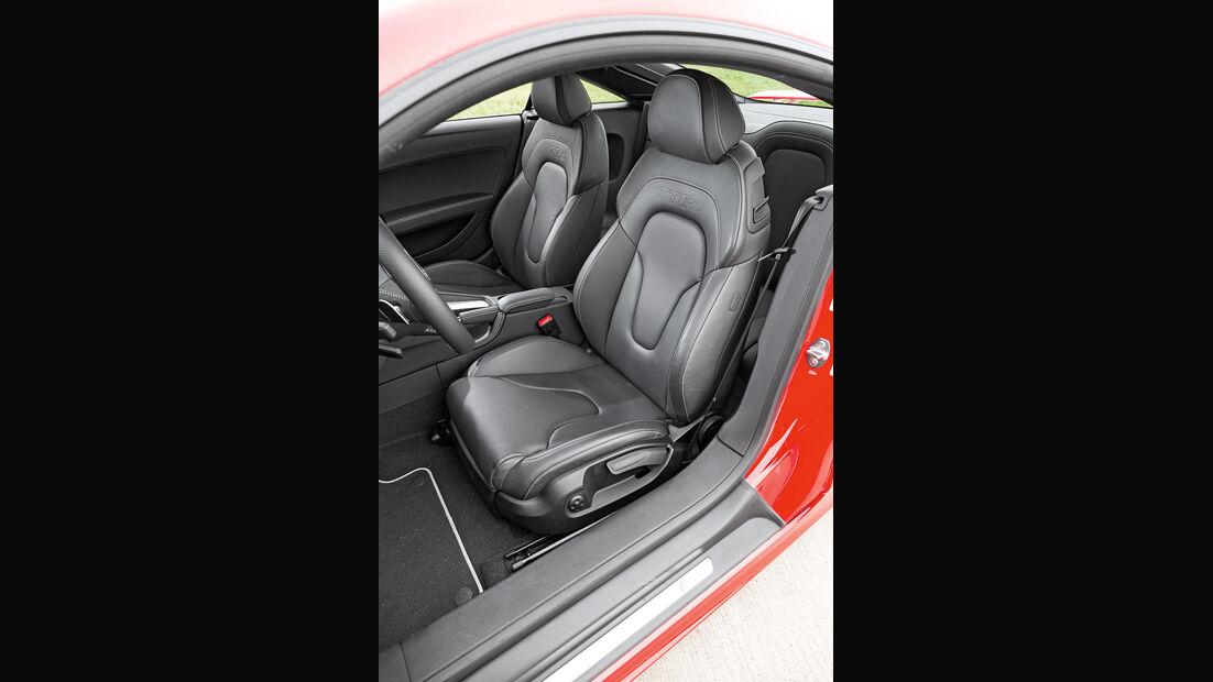 Audi TT RS Plus, Fahrersitz