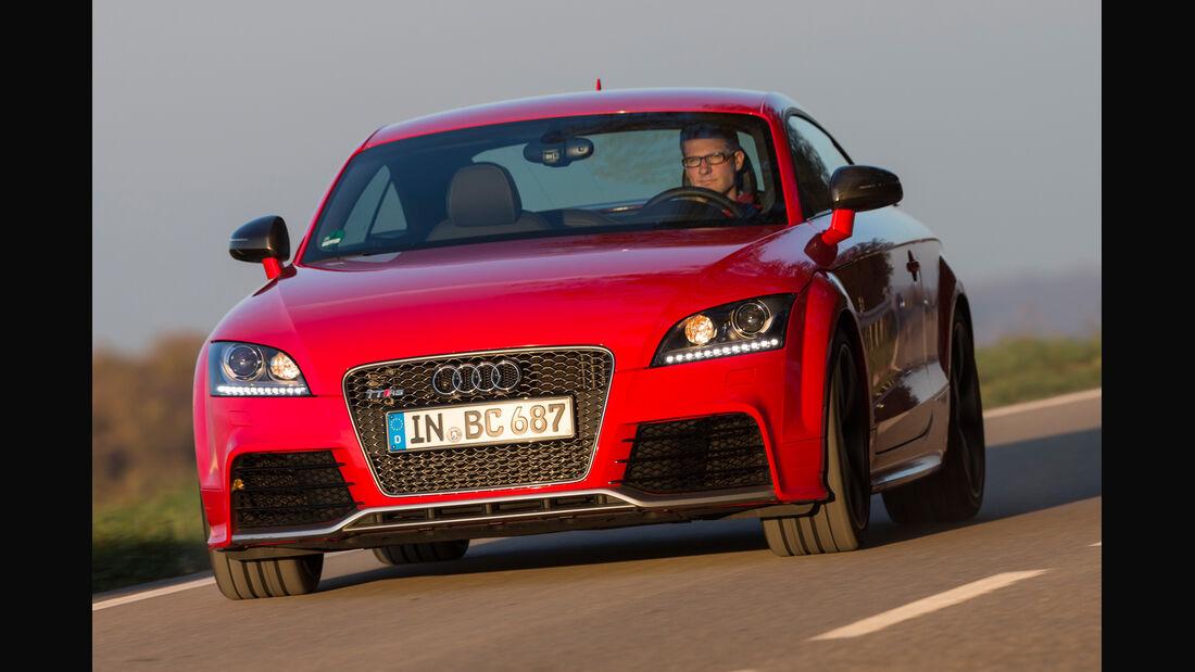 Audi TT RS Plus, Frontansicht