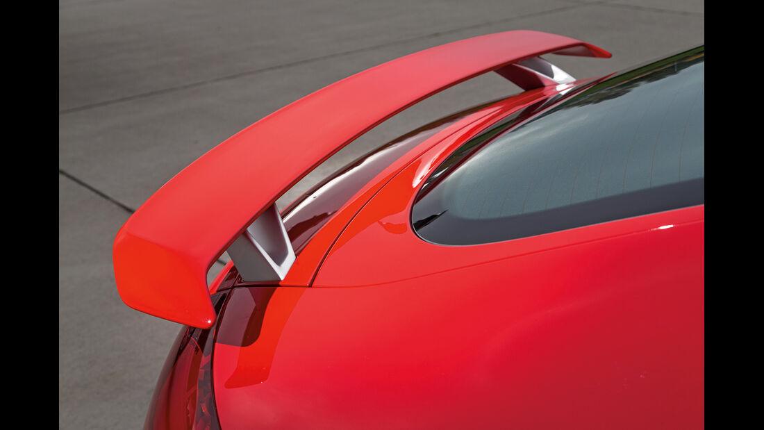 Audi TT RS Plus, Heckspoiler