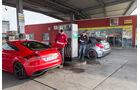 Audi TT RS Plus, Mercedes A 45 AMG,