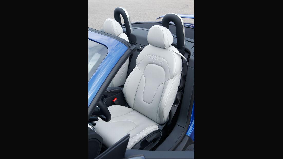 Audi TT RS Plus Roadster, Fahrersitz