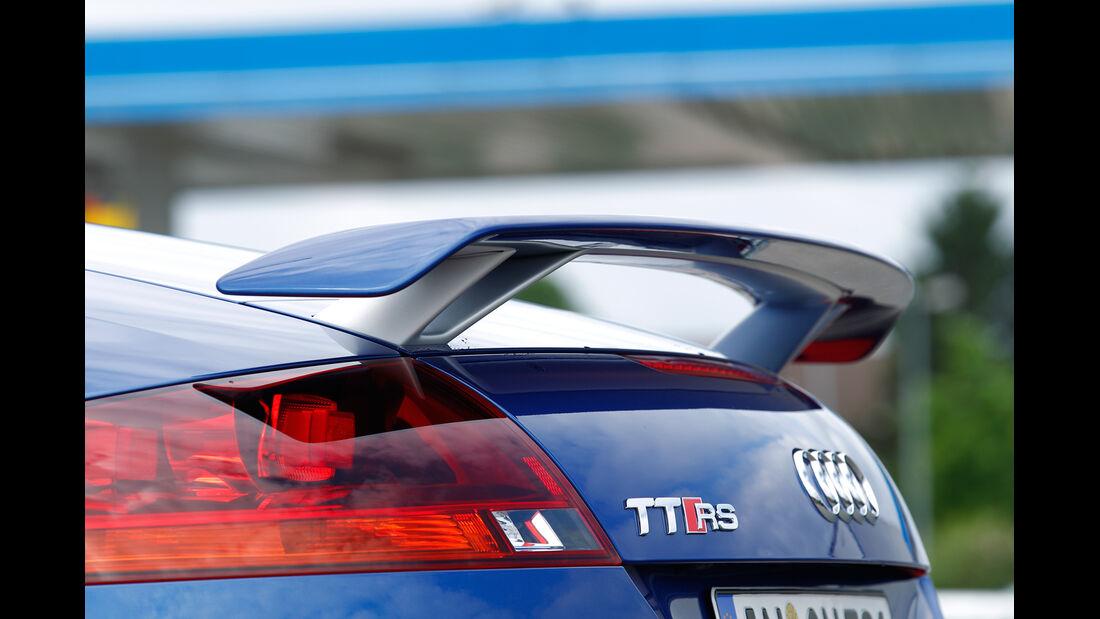 Audi TT RS Plus Roadster, Heckspoiler