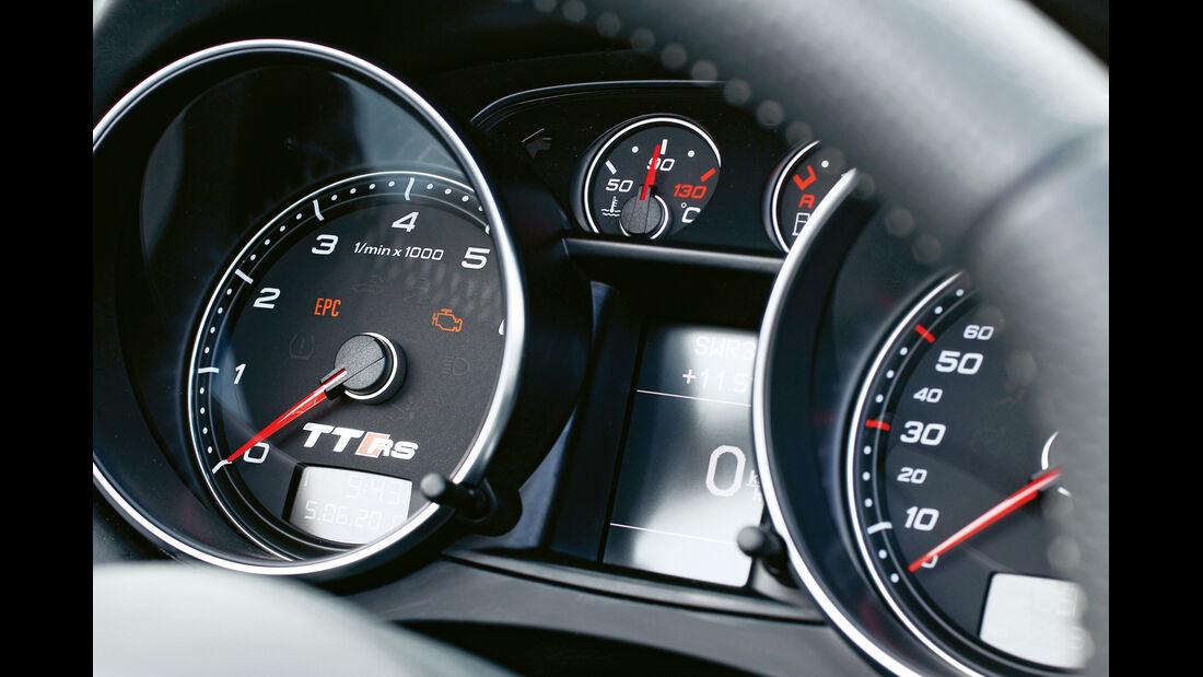 Audi TT RS Plus Roadster, Rundinstrument