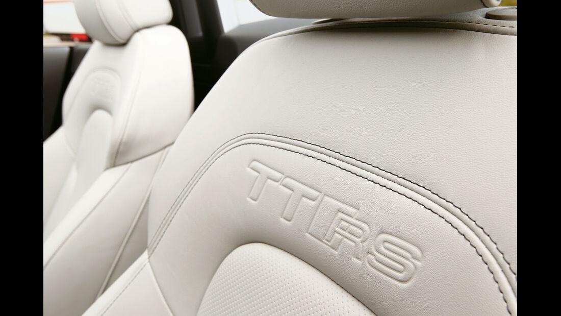 Audi TT RS Plus Roadster, Sitz, Detail