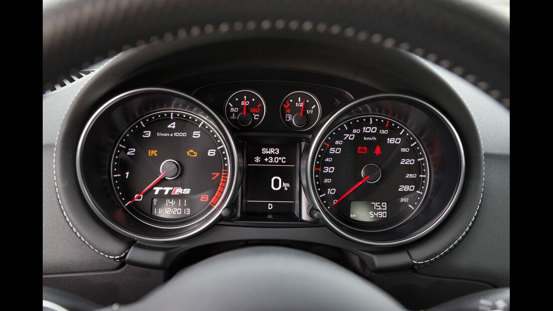 Audi TT RS Plus, Rundinstrumente