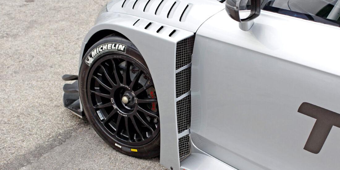 Audi TT RS, Rad, Felge