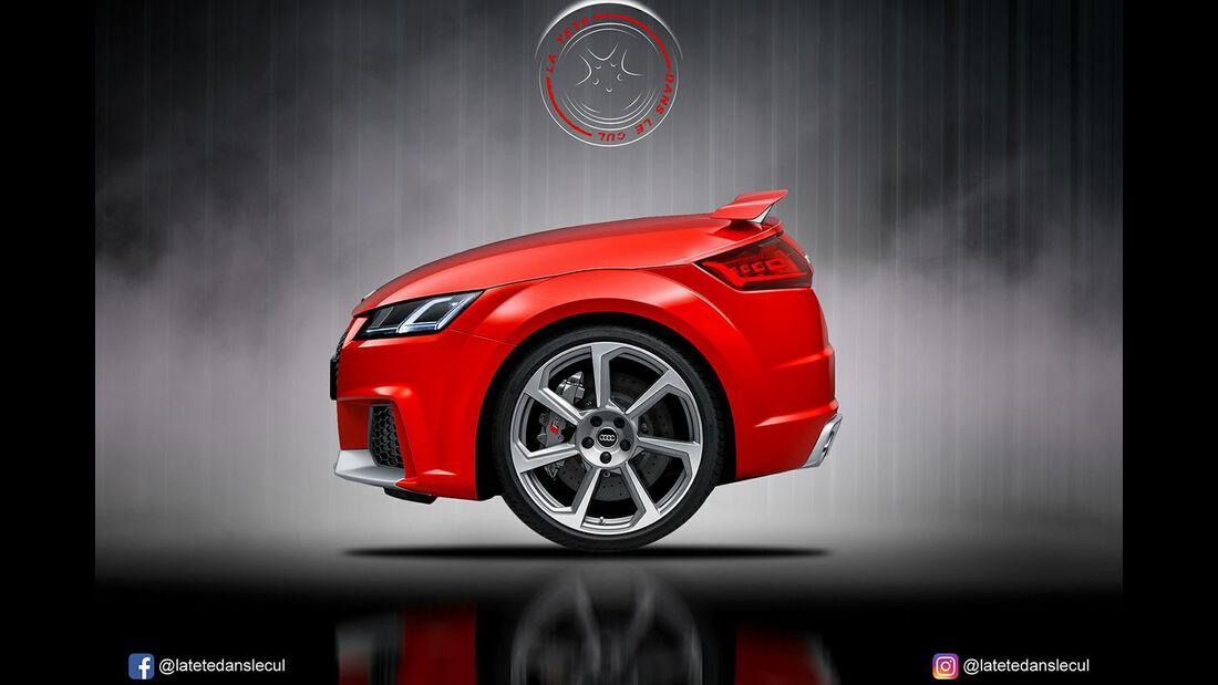 Audi TT RS Retusche