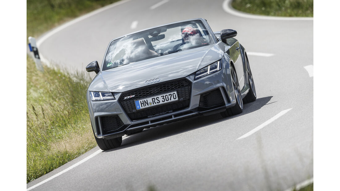 Audi TT RS Roadster Front