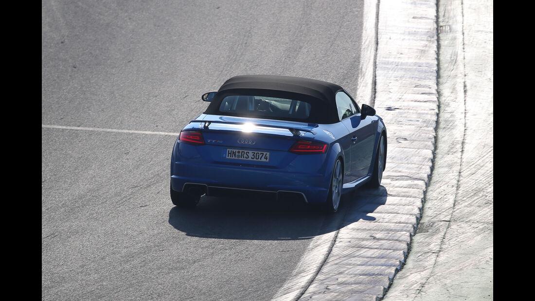 Audi TT RS Roadster, Heckansicht