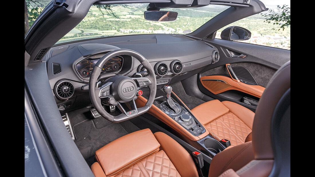 Audi TT RS Roadster Interieur