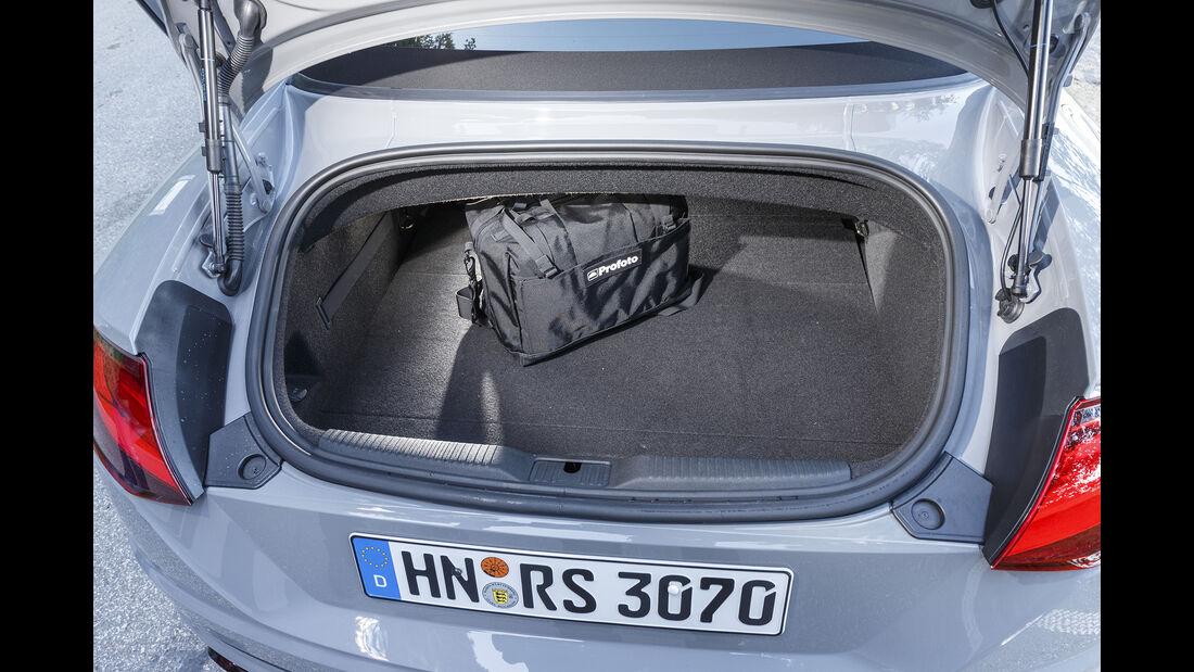 Audi TT RS Roadster Kofferraum
