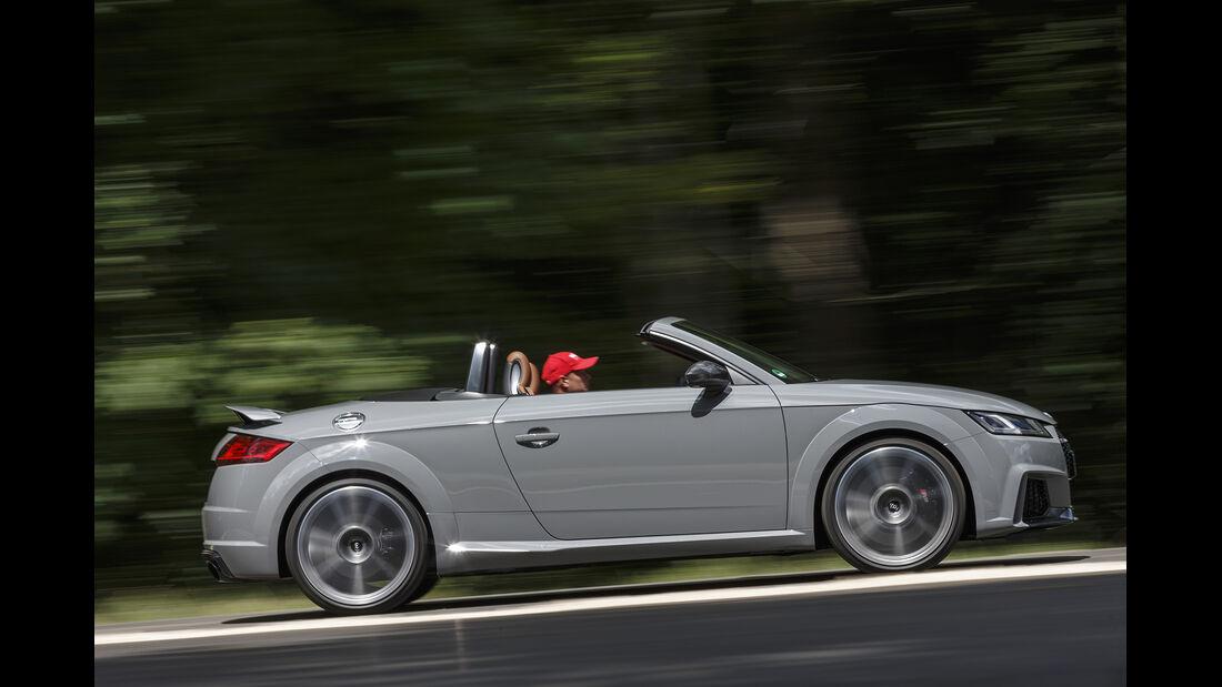 Audi TT RS Roadster Seite