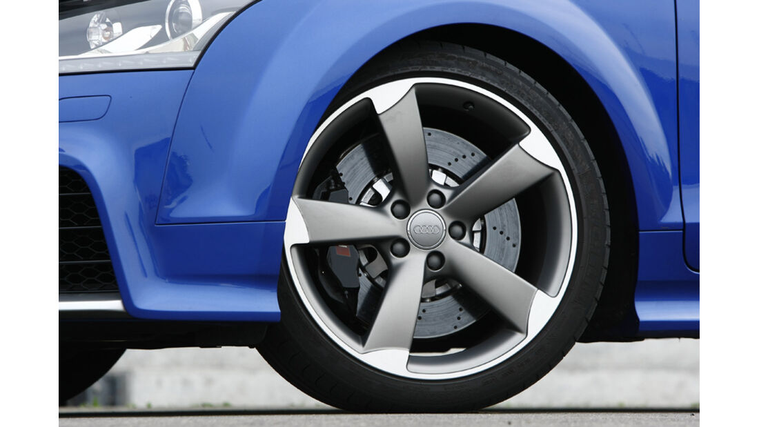 Audi TT RS S tronic, Rad