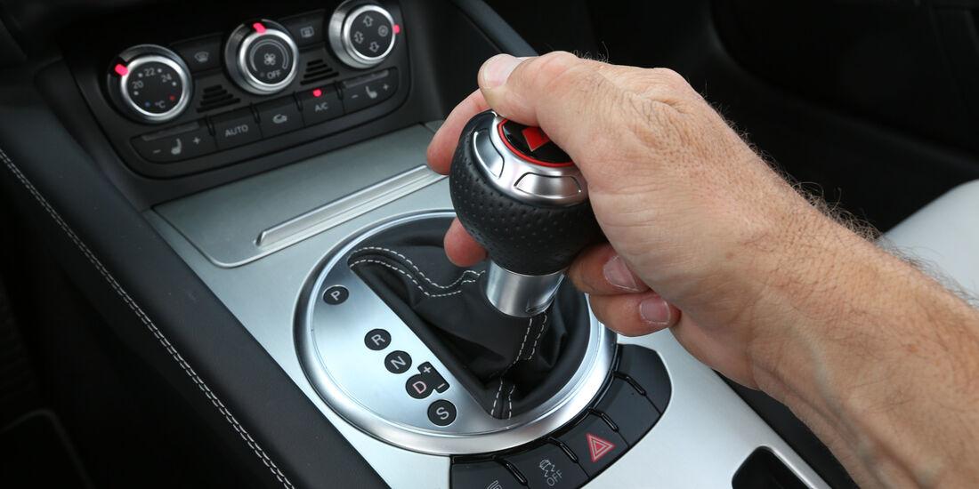 Audi TT RS, Schalthebel