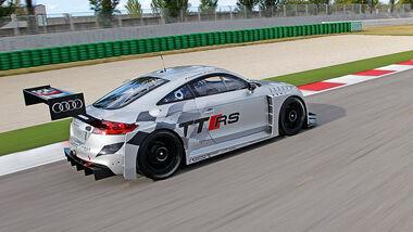 Audi TT RS, Seitenansicht
