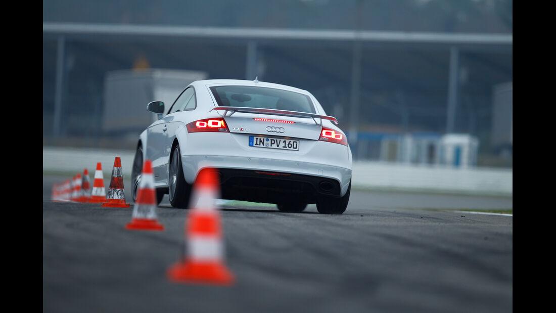 Audi TT RS, Slalom, Heck