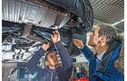 Audi TT RS, Unterboden