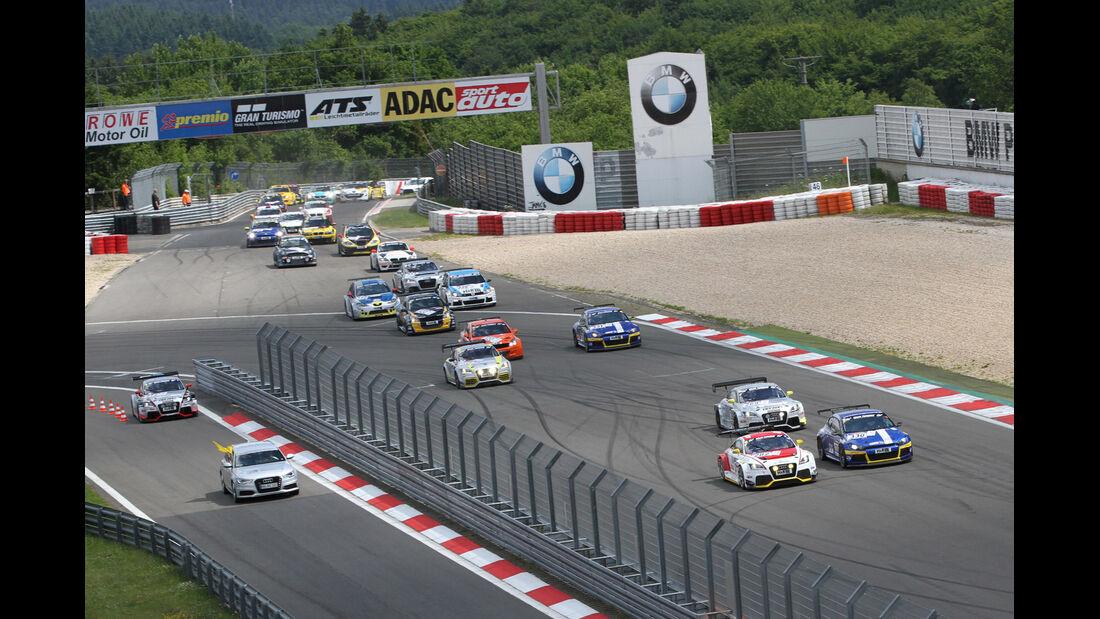 Audi TT RS, VLN Langstreckenmeisterschaft Nürburgring