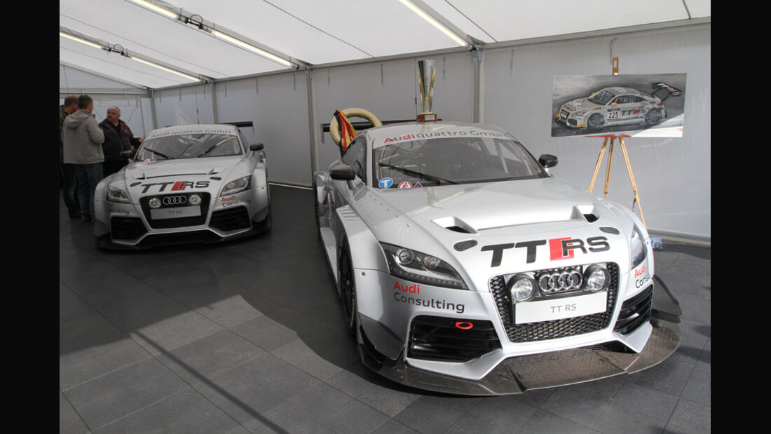 Audi TT RS, VLN, Langstreckenmeisterschaft, Nürburgring