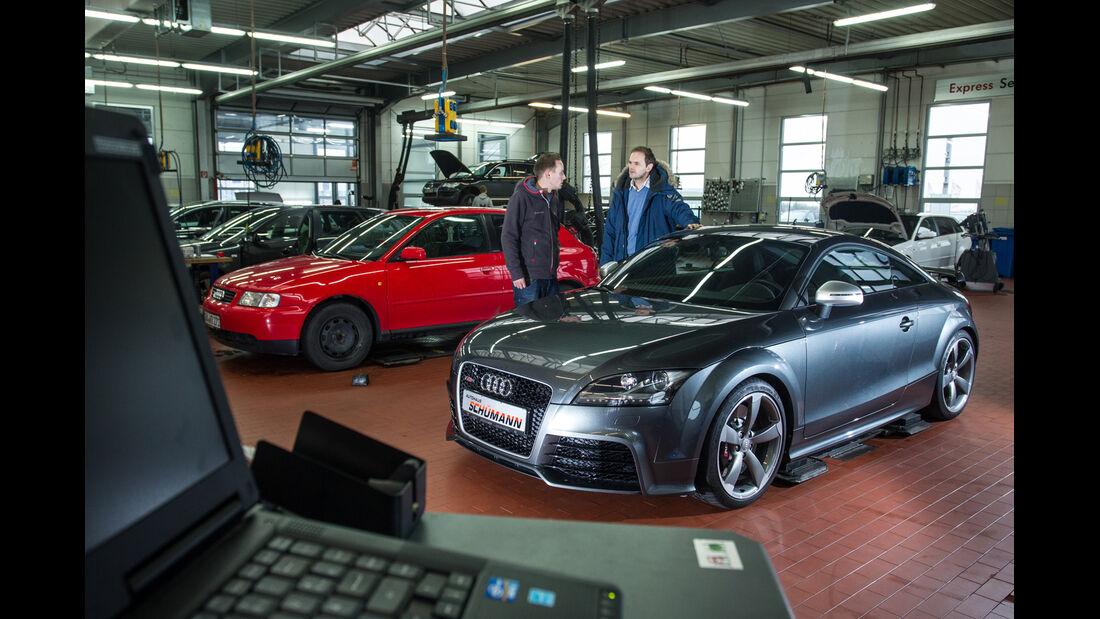 Audi TT RS, Verkaufsraum