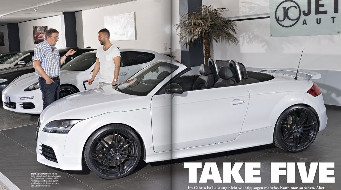 Audi TT RS plus Roadster - Screenshot - sport auto 7/2018