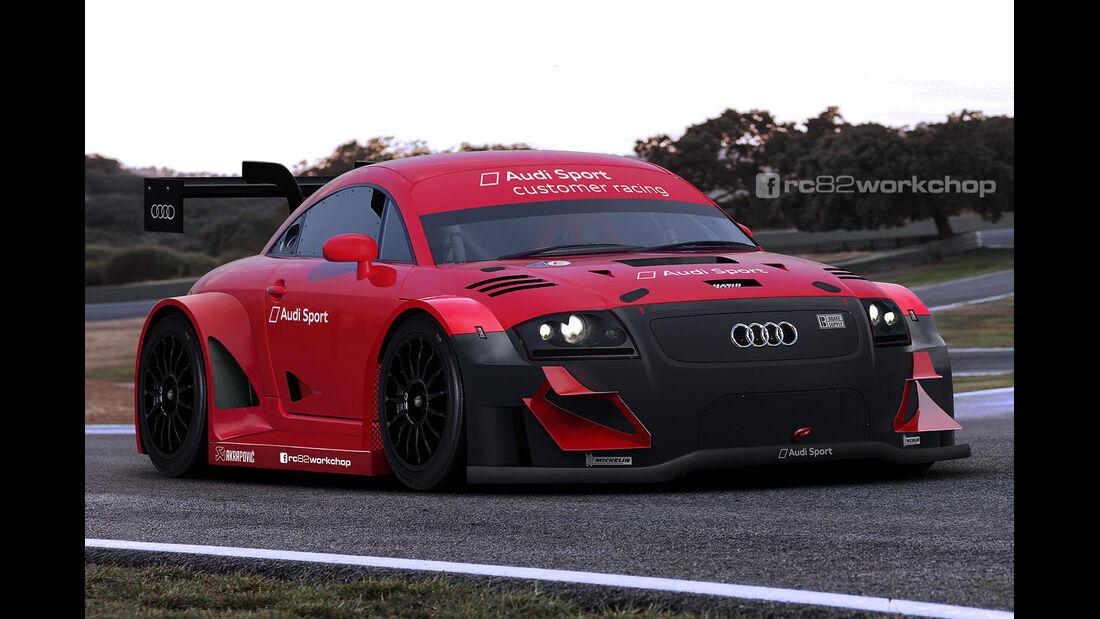 Audi TT - Rennversion - Photoshop