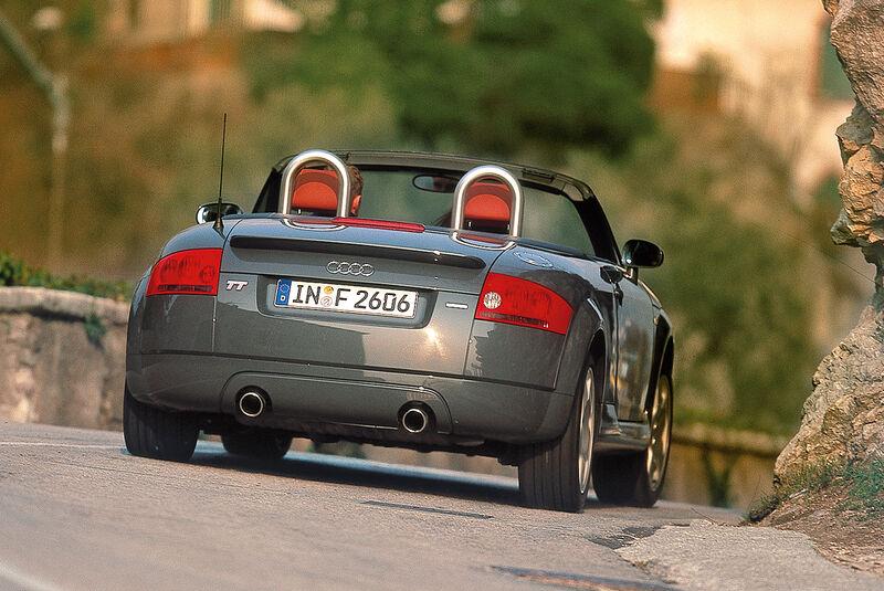 Audi TT Roadster 1.8 T Quattro (8N), Heckansicht