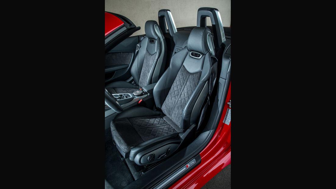 Audi TT Roadster 2.0 TFSI, Fahrersitz