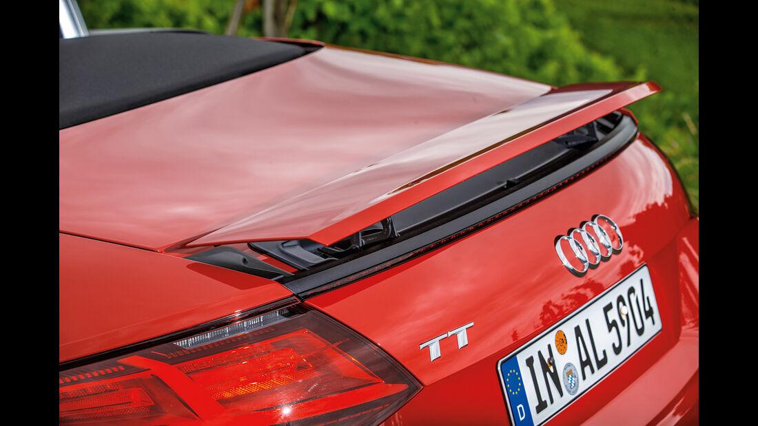 Audi TT Roadster 2.0 TFSI, Heckspoiler