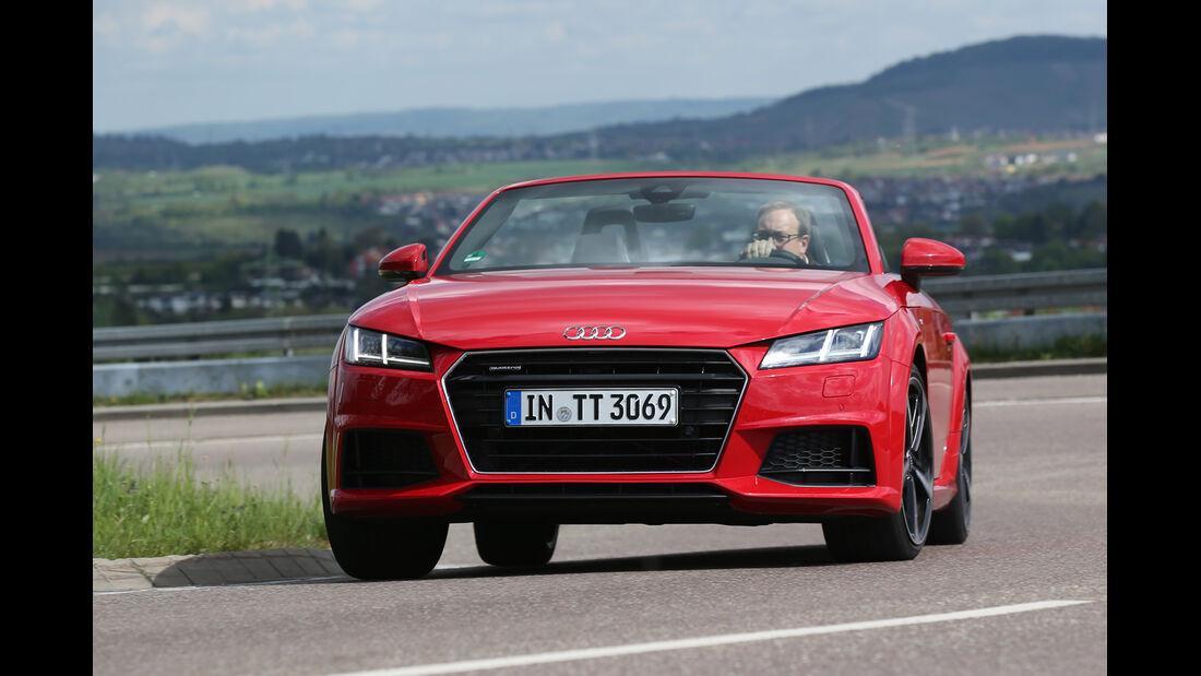 Audi TT Roadster 2.0 TFSI Quattro, Frontansicht