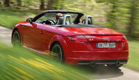 Audi TT Roadster 2.0 TFSI Quattro, Heckansicht