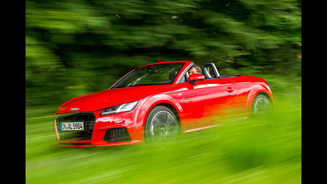 Audi TT Roadster 2.0 TFSI, Seitenansicht