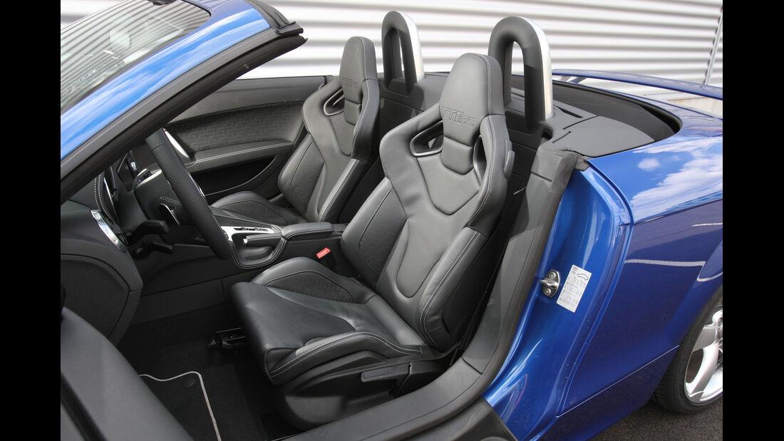 Audi TT Roadster, Fahrersitz, Sitze