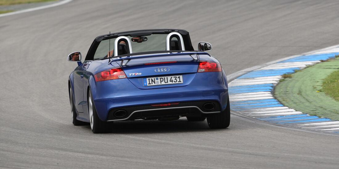 Audi TT Roadster, Heckansicht