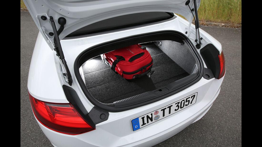 Audi TT Roadster, ams1815, Vergleich Karosseriekonzepte