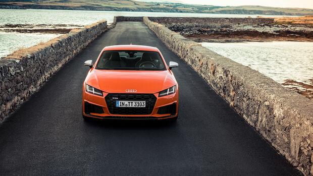 Audi TT S 2018 Facelift Fahrbericht Isle of Man SPERRFRIST 18.07.18 / 12 Uhr