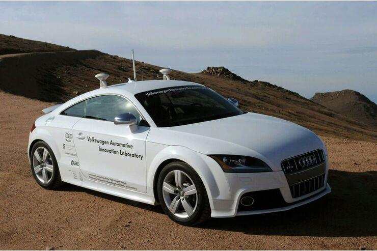 Audi Tt S Als Robor Auto Pikes Peak Ohne Fahrer Auto