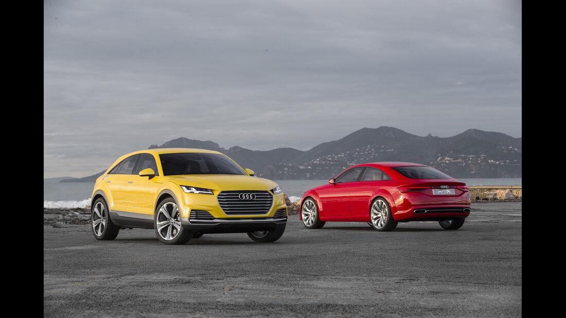Audi TT SUV-Concept, Fahrbericht