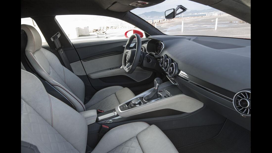 Audi TT SUV-Concept, Fahrbericht, Cockpit