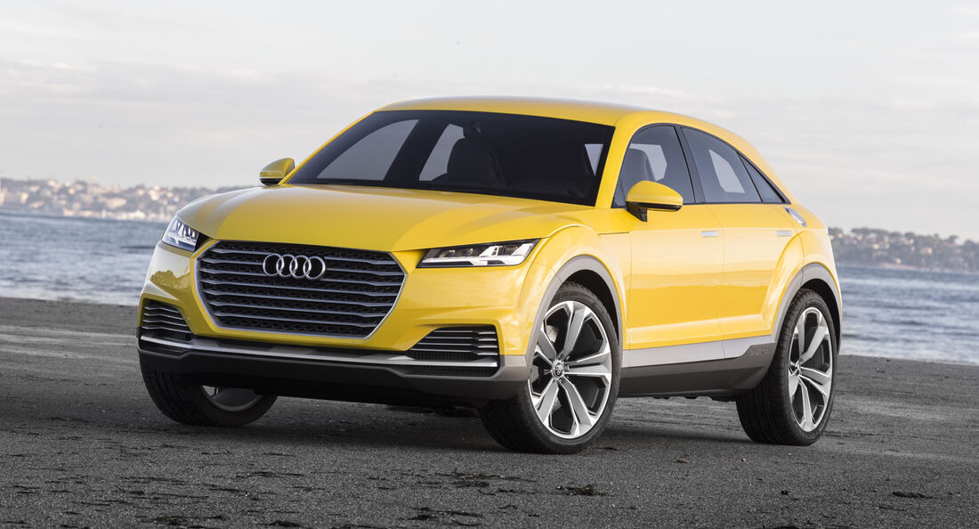 Audi TT SUV-Concept, Fahrbericht, SUV