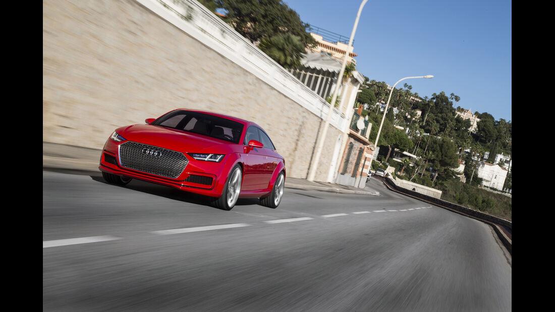 Audi TT SUV-Concept, Fahrbericht, sportback, viertürer