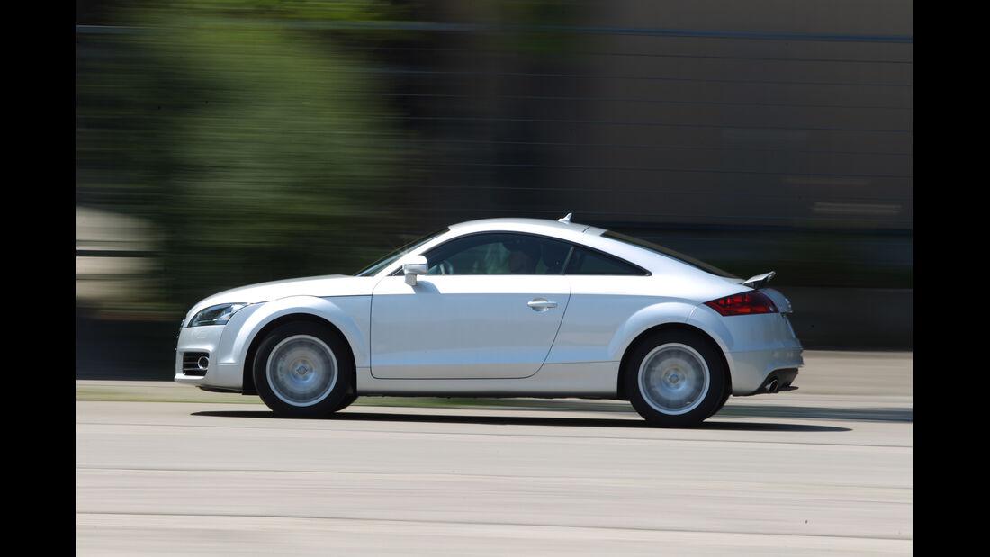 Audi TT, Seitenansicht
