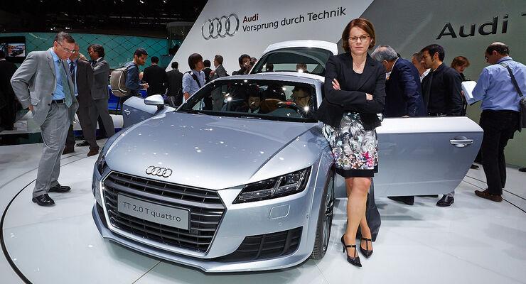 Audi TT Sitzprobe