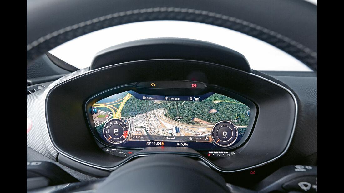 Audi TTS, Anzeige, Display