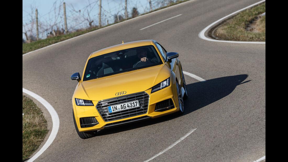 Audi TTS Coupé, Frontansicht