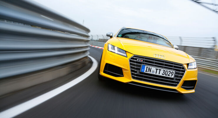 Audi TTS Coupé im Supertest: Potenter Sportler mit einem Manko ...