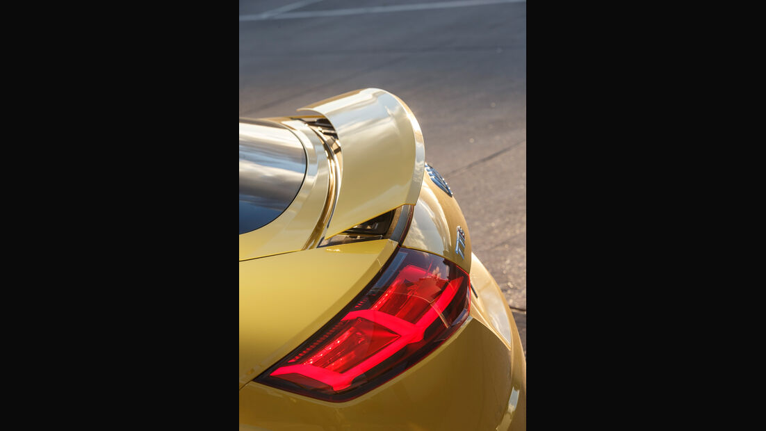 Audi TTS Coupé, Heck
